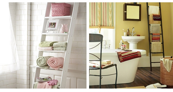 towels bathroom organization ideas
