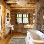 Rustic Cabin Bathrooms Vanity