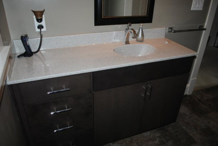 Image of: Single handle bathroom faucet